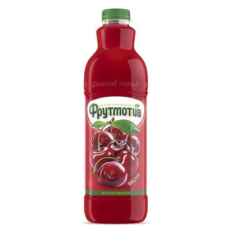 Frutmotiv напиток безалкогольный газированный со вкусом вишни 1,5 л.