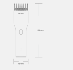 Машинка для стрижки Xiaomi Enchen Boost Hair Trimmer White