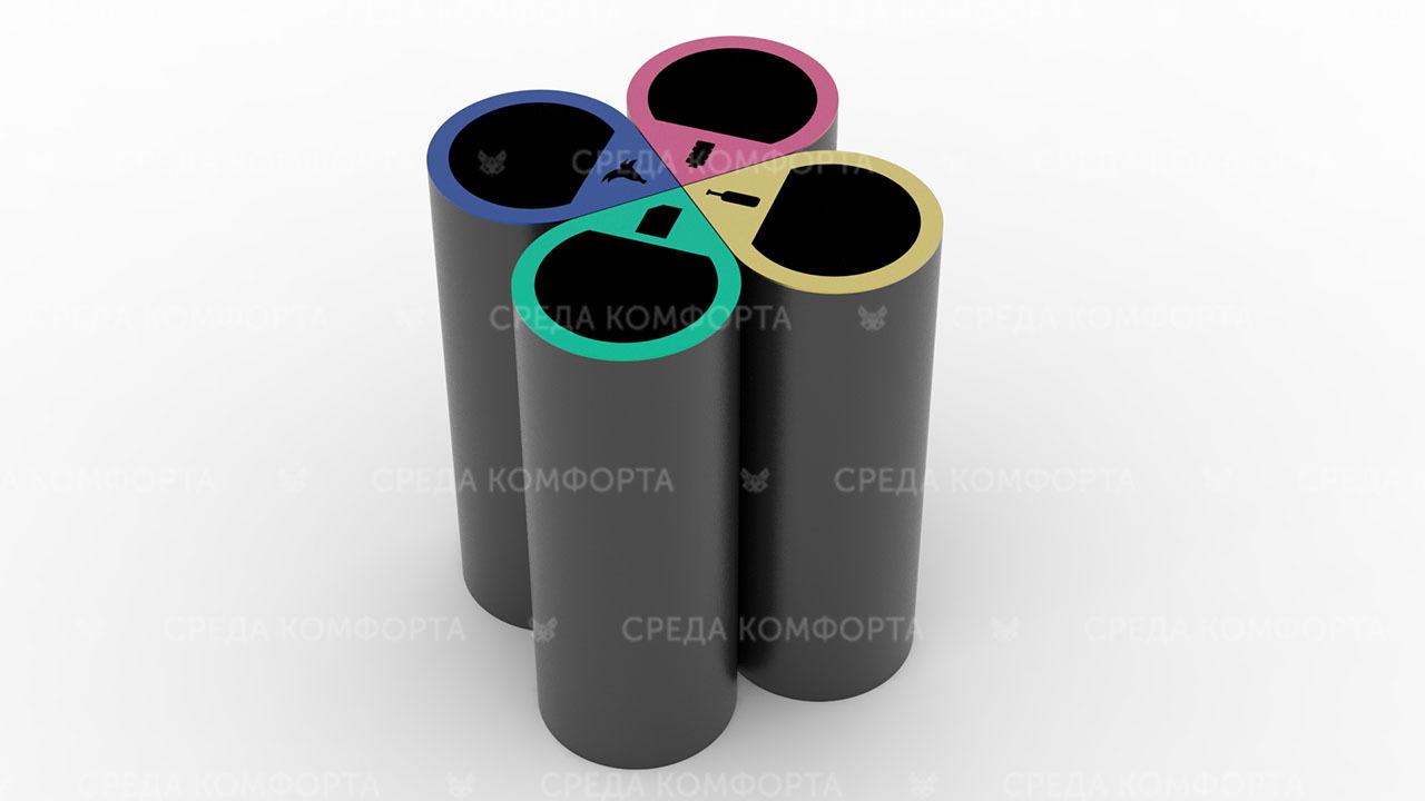 Урна для раздельного сбора мусора URN0150