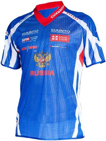 Футболка нейлоновая Noname - Сборная России 2012