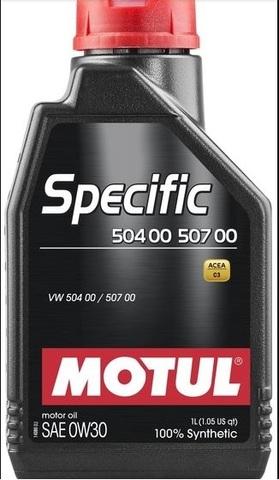 Motul SPECIFIС 504 00 / 507 00  0w30