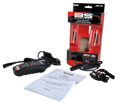 Зарядное устройство для мото АКБ BS15 12V, 1,5A