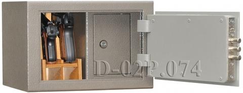 Пистолетный сейф D-02P.074