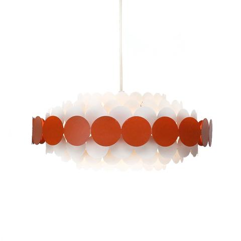 Подвесной светильник Doria Leuchten by B22 Design (красный)