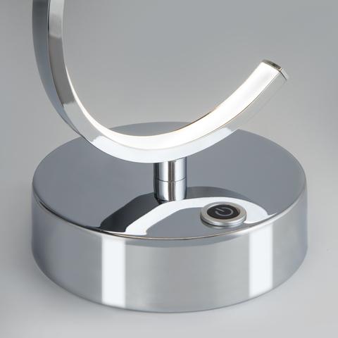 Настольный светодиодный светильник с сенсорным выключателем 80416/1 хром