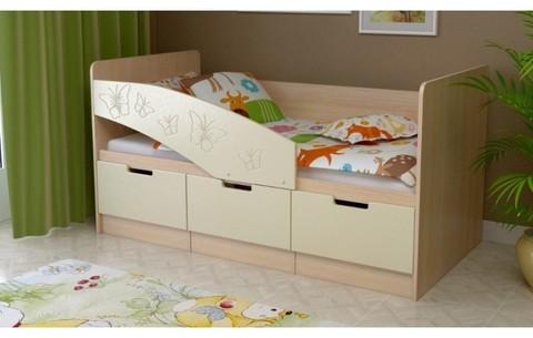 Детская кровать Бемби-8 МДФ, 80х160