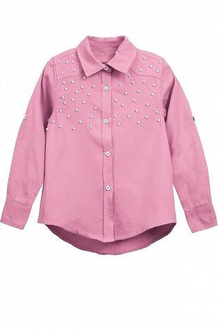 Блузка для девочки розовая купить