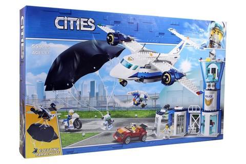 Конструктор Cities 11210 Воздушная полиция авиабаза