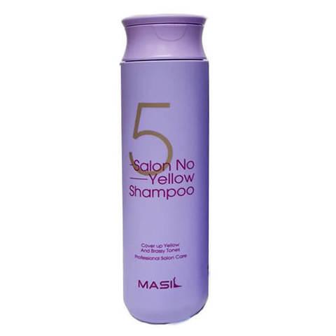 Тонирующий шампунь для осветленных волос Masil 5 Salon No Yellow Shampoo, 300 мл