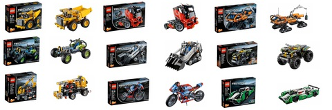 LEGO Technic: Гусеничный погрузчик  — Compact Tracked Loader — Лего Техник