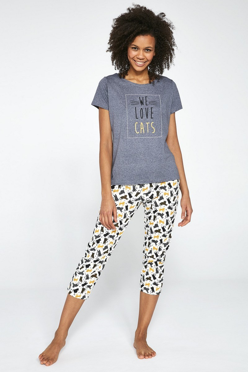 Пижама женская со штанами CORNETTE 497 LOVE CATS
