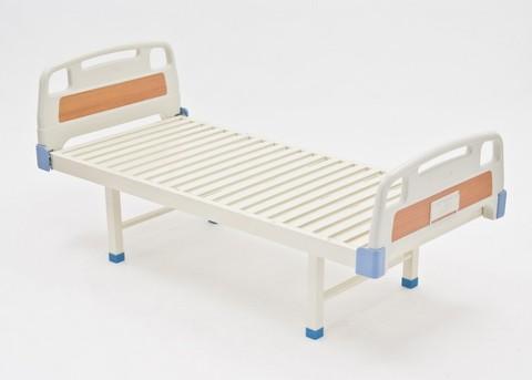 Кровать медицинская с пластиковыми спинками E-18 (Сигма-18) - фото