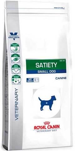 3 кг. ROYAL CANIN Сухой корм для взрослых собак мелких пород для контроля веса Satiety Small Dog