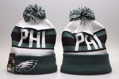 Шерстяная вязаная шапка футбольного клуба (NFL PHI) с помпоном