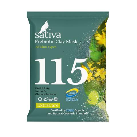 Маска минеральная с пребиотиком №115 | Sativa