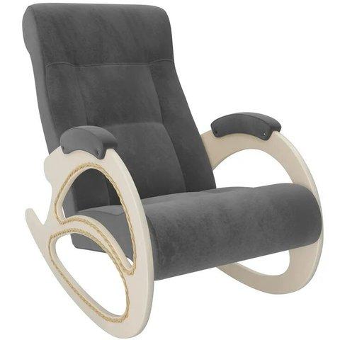 Кресло-качалка Комфорт Модель 4 дуб шампань/Verona Antrazite Grey