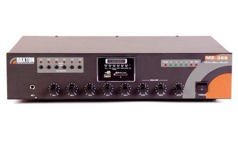 Усилитель комбинированный зональный, 360 Вт MZ-360