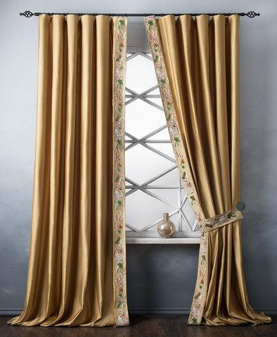 Комплект штор Форева золотой