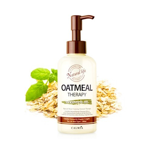 Calmia Oatmeal Therapy Cleansing Oil гидрофильное масло с овсянкой