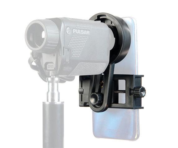 Адаптер для смартфона Veber EA 46 окулярный: ширина крепления для смартфона: 55...102 мм.