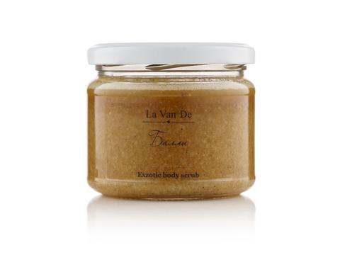La Van De Дренирующий антицеллюлитный скраб Exotic body scrub