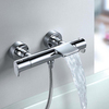Смеситель термостатический для ванны с каскадным изливом и душевым комплектом ALEXIA 363901T1 - фото №3