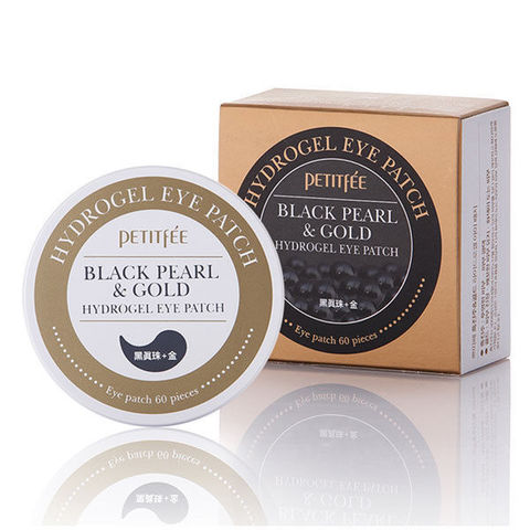 Патчи для глаз Black Pearl and Gold Hydrogel Eye Patch