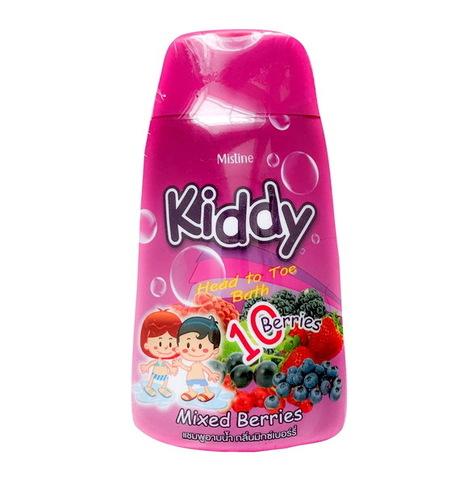 Шампунь-гель для душа для детей Kiddy c ароматом ягод Mistine 200 мл / Mistine Kiddy Head to toe Mixed Berries 200 ml