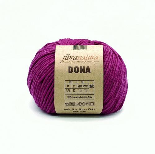 Пряжа Fibra Natura Dona 106-15 лиловый