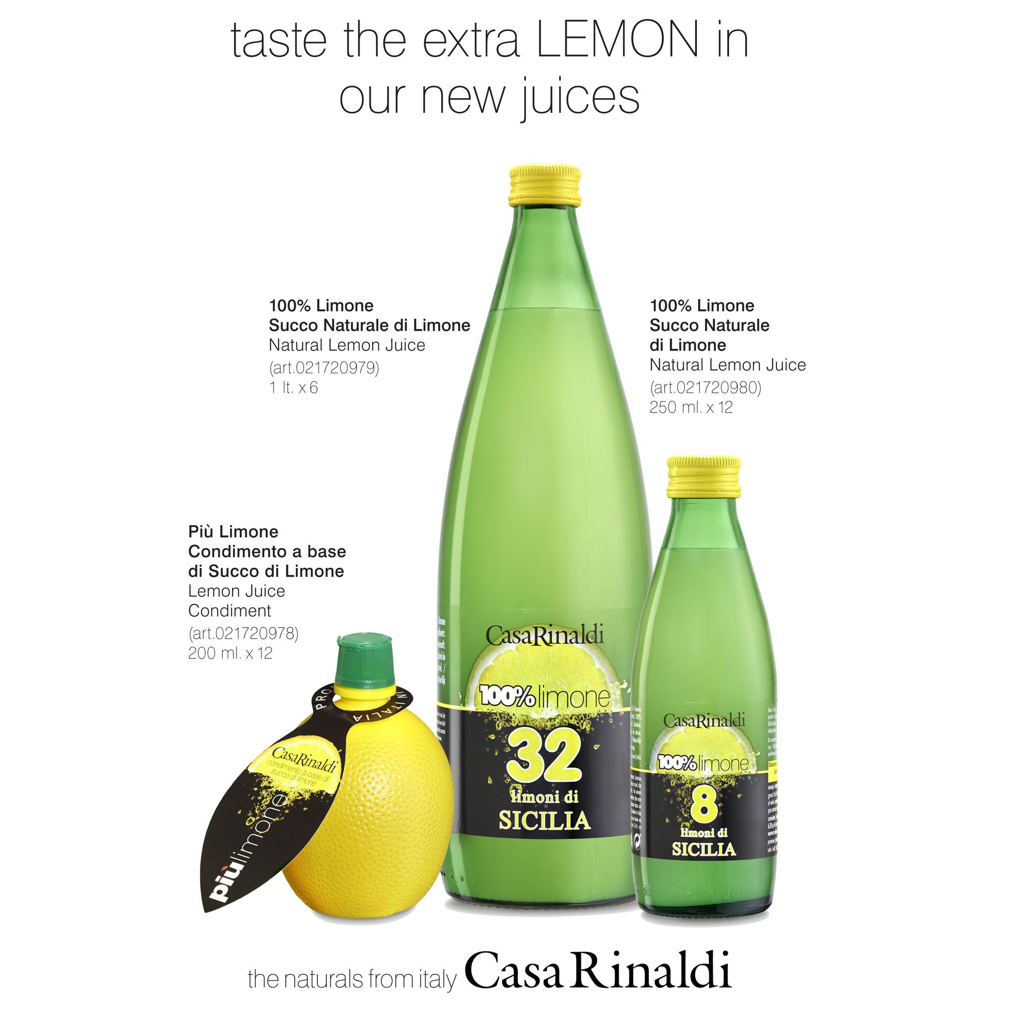 Сок Casa Rinaldi лимонный