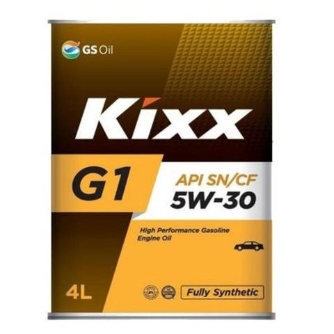 L531244TE1  Kixx G1 5W-30 синтетическое моторное масло (4 литра) официальный сайт партнера ht-oil.ru