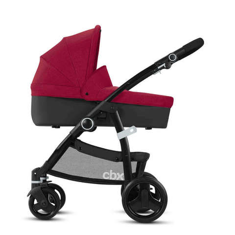 Детская коляска 2 в 1 CBX by Cybex Leotie Pure Crunchy Red