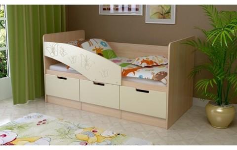 Детская кровать Бемби-8 МДФ, 80х180