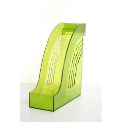 Вертикальный накопитель Attache Яркий Офис пластиковый зеленый ширина 95 мм