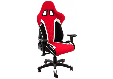 Офисное кресло для персонала и руководителя Компьютерное Prime черное / красное 70*70*125 Черный / красный