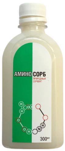 Аминосорб природный сорбент 300мл