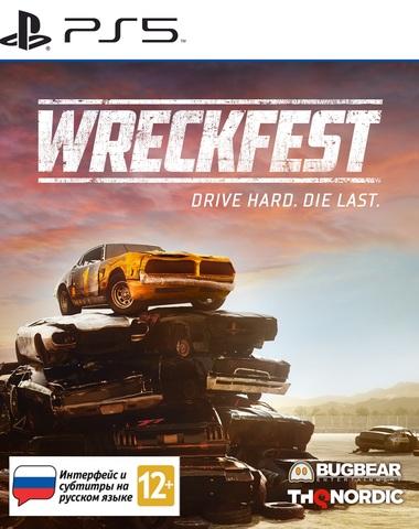 Wreckfest Стандартное издание (PS5, русская версия)