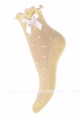 Носки с бантиком и ажурной резинкой (12-20) ЛВ.А9Жц