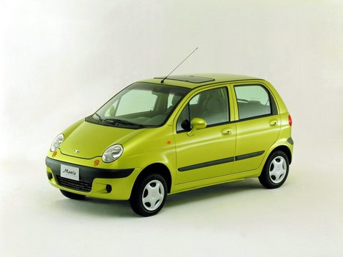 Чехлы на Daewoo Matiz 2000–2017 г.в.