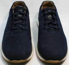 Перфорированные кроссовки мужские Faber 1957134-7 Blue