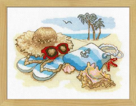 Набор для вышивания крестом «Отдых на море» (1719)