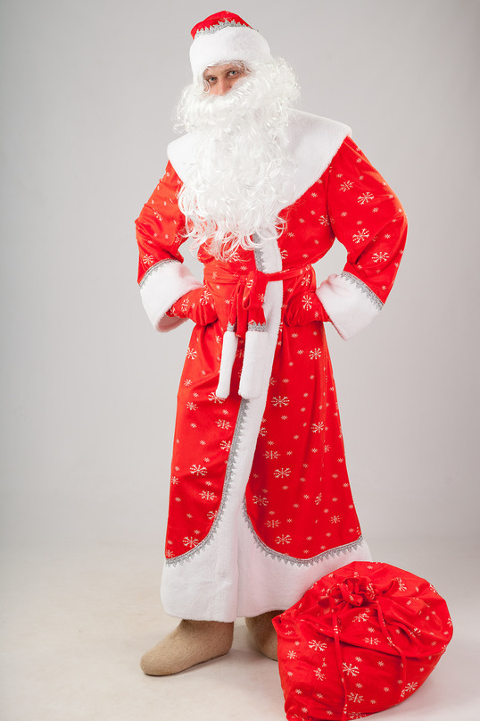 Дед Мороз плюш Сказочный