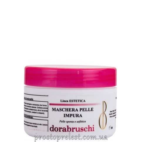 Dorabruschi estetica maschera pelli impure - Осветляющая маска для смешанной и жирной кожи, линия Estetica viso