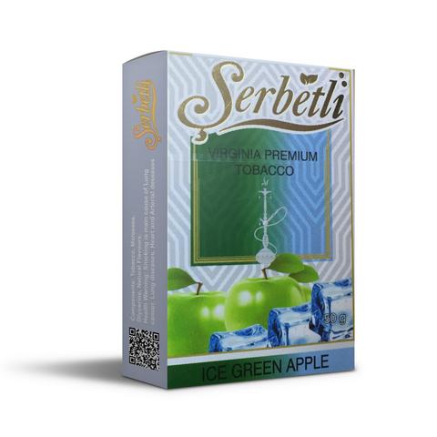 Табак Serbetli Ice Green Apple (Зеленое Яблоко Лед) 50 г