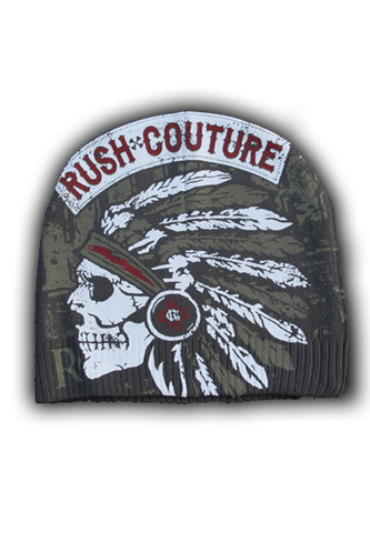 Шапка American Indian Beanie Rush Couture купить