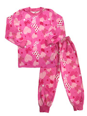 111SP-1 пижама детская, розовая