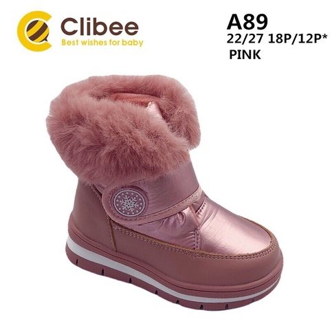 Clibee (зима) A89 Pink 22-27