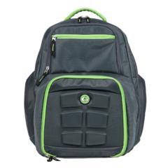 Рюкзак с контейнерами для еды 6 Pack Fitness Expedition Backpack 300 Grey/Green