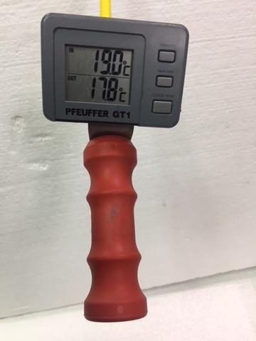 Термощуп GT1 для измерения температуры зерна в насыпи