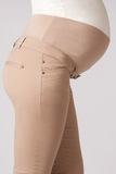 Брюки для беременных 02818 бежевый